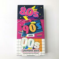 80's 90's & '00's Ultimate Quiz Game NEW