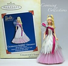 2005 Hallmark Celebration Barbie Keepsake Ornament Bob Mackie 6th in Series #6