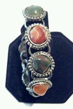 Very Nice Vintage Multi-Stone Bracelet, Unmarked