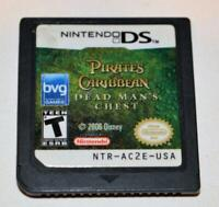 PIRATES OF THE CARIBBEAN: DEAD MAN'S CHEST NINTENDO DS GAME 3DS 2DS LITE DSI XL