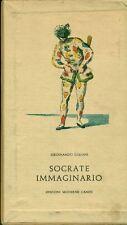 GALIANI Ferdinando. Socrate immaginario. Edizioni Moderne Canesi, 1960