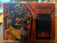 2020 Certified New Generation Cam Akers Rookie Patch 63/199!!! Red Parallel!!...