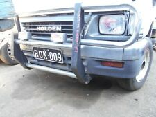 11/1995 HOLDEN TF RODEO 2WD SINGLE CAB FRONT BUMPER BAR (STOCK NUMBER V7521)