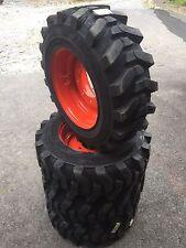 4 10 165 Hd Skid Steer Tireswheelsrims For Bobcat Camso Sks532 Heavy Duty