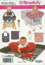 Simplicity Pattern # 4225 Baby Accessories Quilt Pillow Cover Bunny Doll Uncut