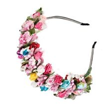 Bride Headband Headband Party Wedding Festival Decor Flower Garland Floral