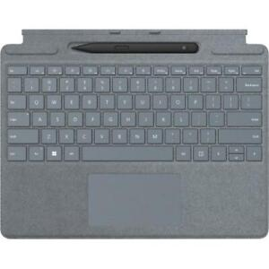 Microsoft Surface Pro Signature Keyboard Ice Blue with Surface Slim Pen 2 Black