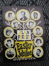 ALAN FREED EASTER JUBILEE PROGRAM -JACKIE WILSON-FATS DOMINO-BOBBY DARIN-FABIAN