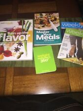 Lot WEIGHT WATCHERS 360 Starter kit set Food Companion books points guide weekly