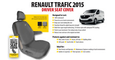 HDD RENAULT TRAFIC 2015 in poi Driver SEAT COVER NERO 851 Heavy Duty Designs