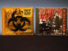 Biohazard Urban Discipline CD + State of the World Address CD + Flat Autographed