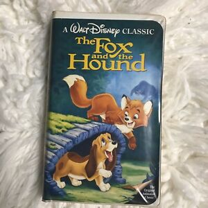 The Fox and the Hound Disney Black Diamond Vintage VHS 1994 All Papers
