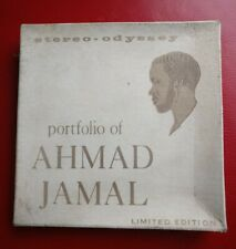 Reel To Reel Tape Rare Portfolio Of Ahmad Jamal Limeted / Band Magnetic Audio