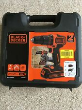 Black & Decker Cordless Drill Driver Carry Case BCD700S (1) Free UK Postage