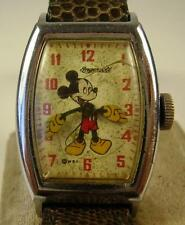 Antike Originale seltene Armbanduhr Micky Maus 1949 Ingersoll
