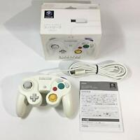 Nintendo GameCube Controller White Official with Box & Manual