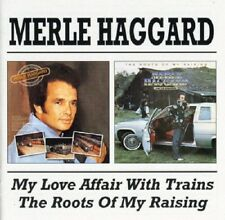 Merle Haggard My Love Affair With Trains/The Roots Of My Raising CD NEW SEALED