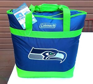 SEATTLE SEAHAWKS X-LARGE SIZE COOLER BAG TOTE INSULATED FOR HOT/COLD COLEMAN