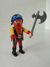 Playmobil Figure - Long Bearded Pirat with axe and revolver (Loose)