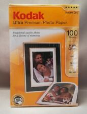 Kodak ULTRA PREMIUM Photo Paper High Gloss Instant Dry 4X6 100 Sheets 20% Off