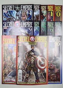 Secret Empire #0-10  FCBD Omega 13 issue set Captain America Hydra