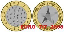 LA  COMMEMORATIVE   PIECE DE    3 €   SLOVENIE  2008          DISPONIBLE