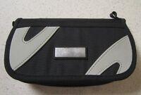 On The Go Travel Carry Nylon Case For PSP Black Grey Gray UMD Multi-Color 9E