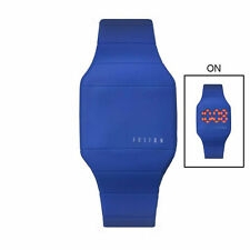 Silicone/Rubber Case Digital Unisex Casual Wristwatches