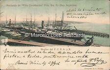 ARGENTINA SANTA FE VILLA CONSTITUCION MUELLES DEL F.C.B.A. Y R. 17 - BRUCART