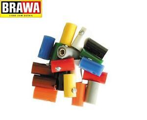 Brawa 3041 Muffen rund, 2,5 mm, gelb (10 Stück) - NEU + OVP