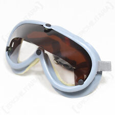 Original Bundeswehr DUST GOGGLES - Germany Army Surplus Military Safety Glasses