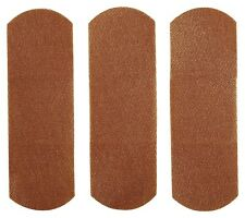"100 FLEXIBLE Fabric BANDAIDS Full New BOX of 100 1"" x 3"""