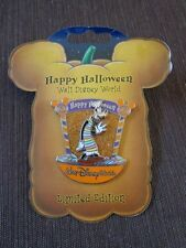 Disney Pin WDW Happy Halloween 2007 Candy Characters Goofy Le