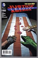 JUSTICE LEAGUE of AMERICA #5 - DAVID FINCH COVER - DC COMICS NEW 52 - 2013
