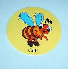 SÜßer Original AUFKLEBER Sticker - BIENE CILLI Bienen Imker Kinder