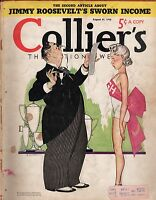 1938 Colliers August 27-Oppenheim; Income Tax returns; Ty Cobb's Sam Chapman