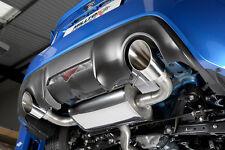 MILLTEK Abgasanlage Brushed Titanium ab KAT für Toyota GT86 & Subaru BRZ ECE/TÜV