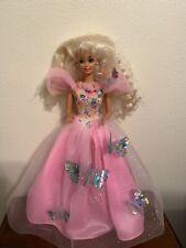 Barbie Butterfly Princess; Tulle Skirt W/ Butterflies Children's Toy Doll