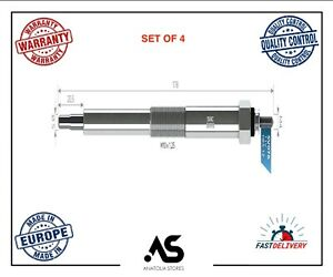 4 X HEATER GLOW PLUGS 11V FOR NISSAN ALMERA NAVARA NP300 PICK UP X TRAIL PRIMERA