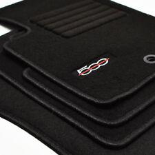 Velours Fußmatten Edition für Fiat 500 + 500 C Cabrio ab Bj.2007 - 2013 ov