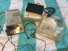Sony BM-715 Micro Transcriber w/FS-75 Foot Control & DE-35 Headphones & Manual !