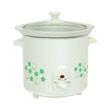 Electric Floral Patterned 1.5Q Slow Cooker