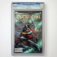Batman: Battle for the Cowl #2 CGC 9.8 NM/M 🦇 Variant Cover DC Comics 2009
