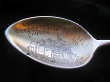 Coates St. Presbyterian Church Moberly MO. Sterling Silver Souvenir Spoon