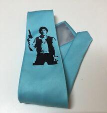 Han Solo Necktie, New, Star Wars, Blue necktie