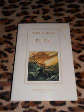 CAP COD - Henry David Thoreau - Imprimerie Nationale, 2000
