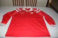 Camiseta MATCH WORN SEVILLA FC 1992-93 FRONT RUNNER Medida 8=XL 5 (DIEGO RGUEZ)