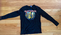 Iron Maiden Evolution of Eddie Long sleeve T shirt Worn once!  size M
