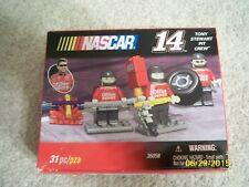 New 31 piece Nascar K'Nex Tony Stewart #14 pit crew #36058 Sealed in Box