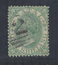 South Africa - Natal QV 1867 sg25 FU (wmk Crown CC)